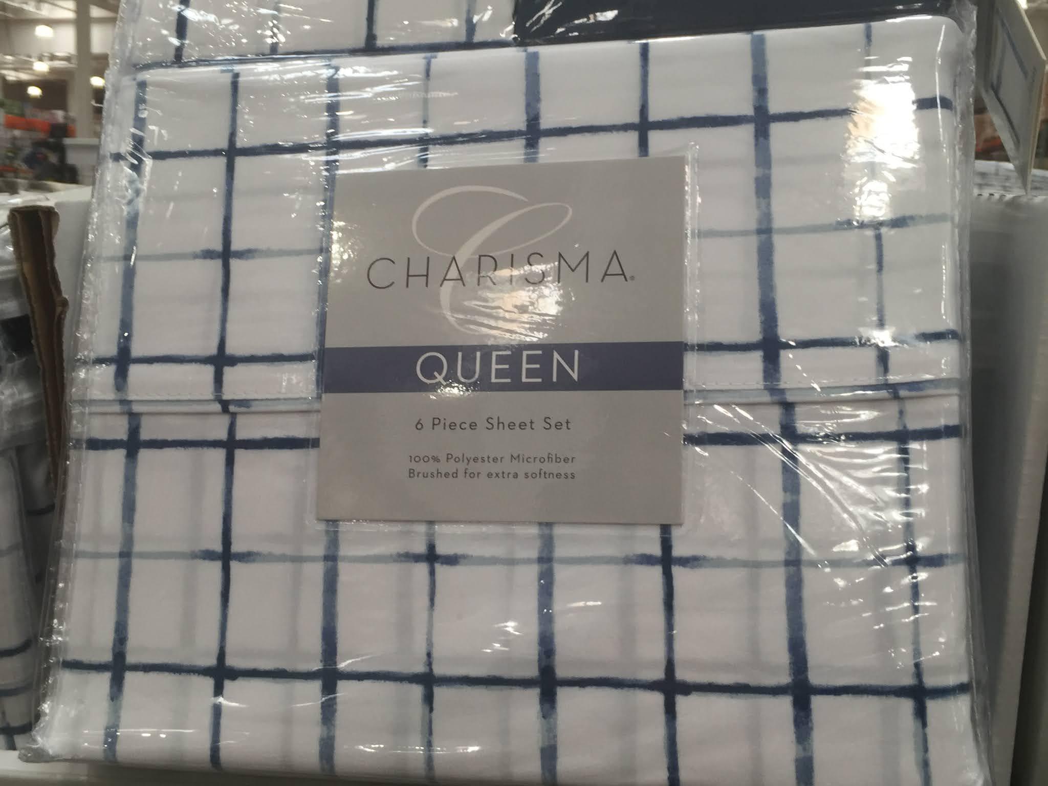 Enjoy a comfortable sleep with the Charisma 6-piece Microfiber Sheet Set