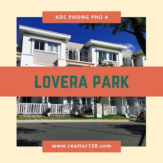 bán nhà phố lovera park khu dân cư phong phú 4 bình chánh