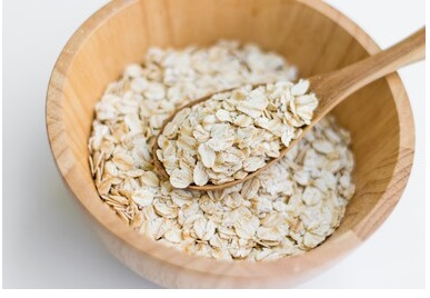 Oatmeal porridge mask