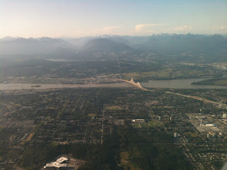 Aerial view of Surrey British Columbia
