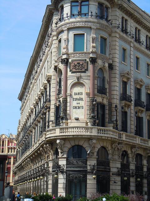 Yo trabaje en banesto las oficinas banesto calle alcala for Oficinas banco madrid