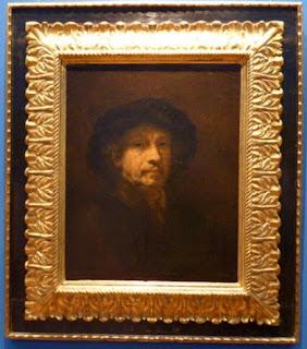 Autorretrato de Rembrandt.