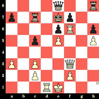 Les Blancs jouent et matent en 4 coups - Robert Fischer vs W Hook, Siegen, 1970