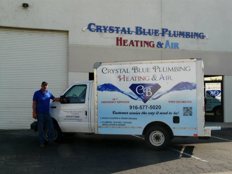 Crystal Blue Plumbing Heating Air