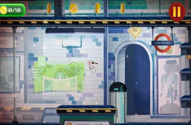 Game danger mouse ultimate banyak rintangan yang harus dilewati
