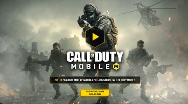 Cara Registrasi Game Call of Duty Mobile Official Global