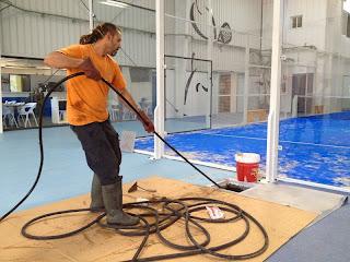 Servicio de limpieza con agua a presión