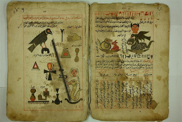 المكتبة الروحانية كتب الحسيني الفلكي