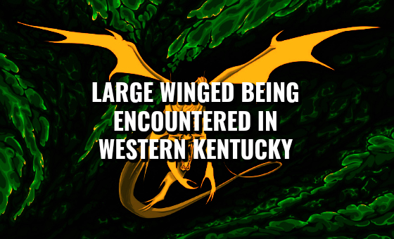 Large Winged Being Encountered in Western Kentucky