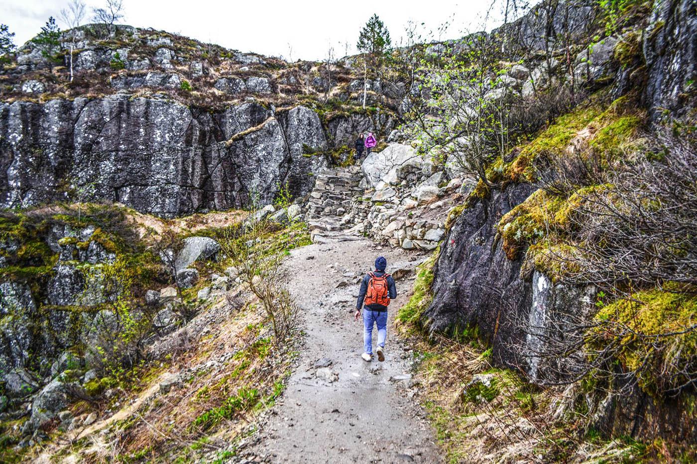 Скалы и тропы Норвегии