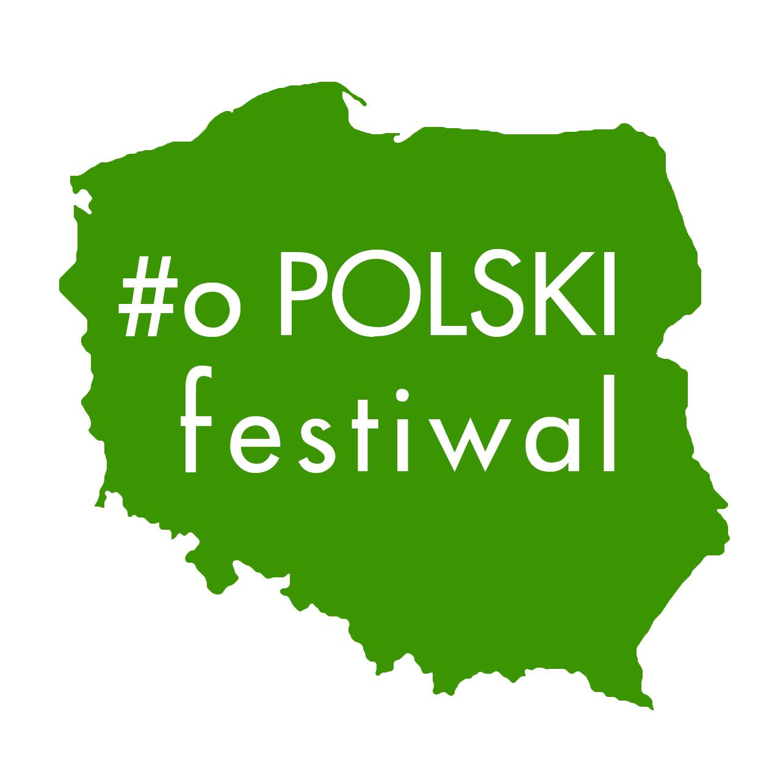 Logo dla #o Polski Festiwal. Grafika, logo, logotyp, identyfikacja wizualna
