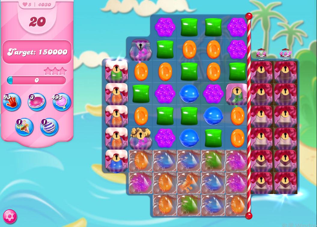 Candy Crush Saga level 4030