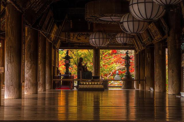 奈良,紅葉,長谷寺
