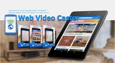 Web Video Caster le permite transmitir videos a Chromecast