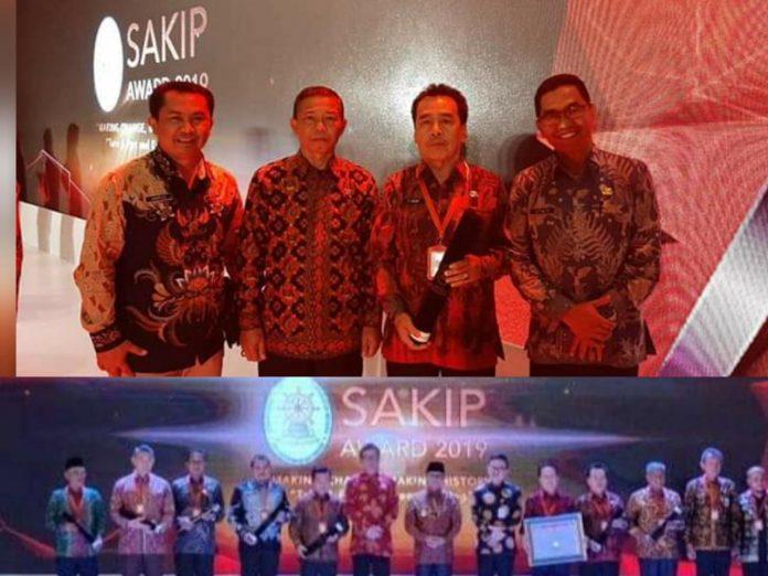 Pemkab Kerinci Terima Penghargaan SAKIP Award dari Menpan-RB