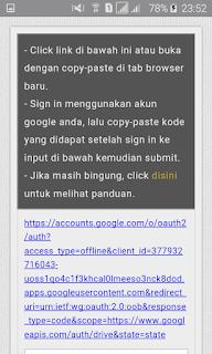 Halaman enkripsi link download