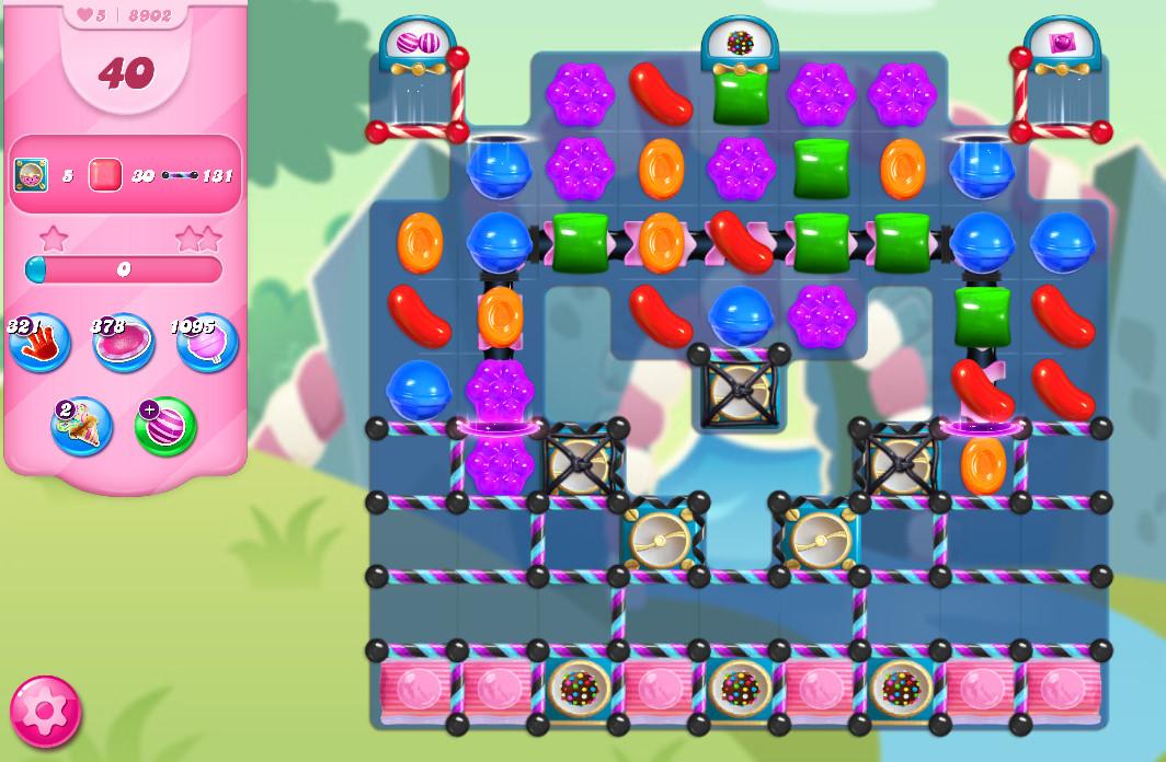 Candy Crush Saga level 8902