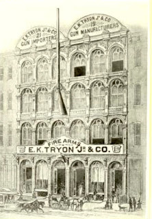 Tryon Store at No 19 and 21 North 6th Street 1881 Phila.