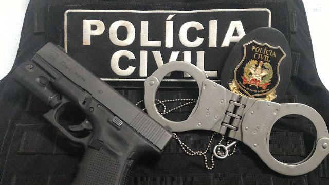 A imagem da Polícia Civil