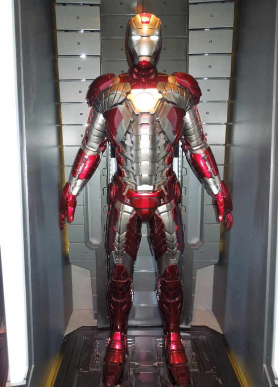 Iron Man 2 Mark V briefcase suit