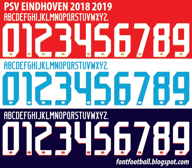 2019 Font: FONT FOOTBALL