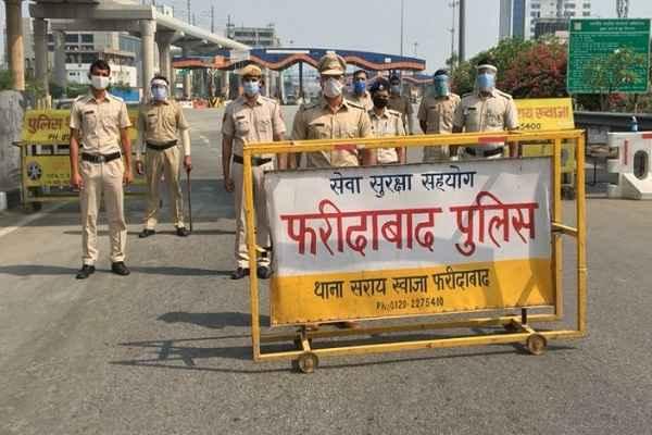 faridabad-traffic-police-advisory-for-heavy-vehicle