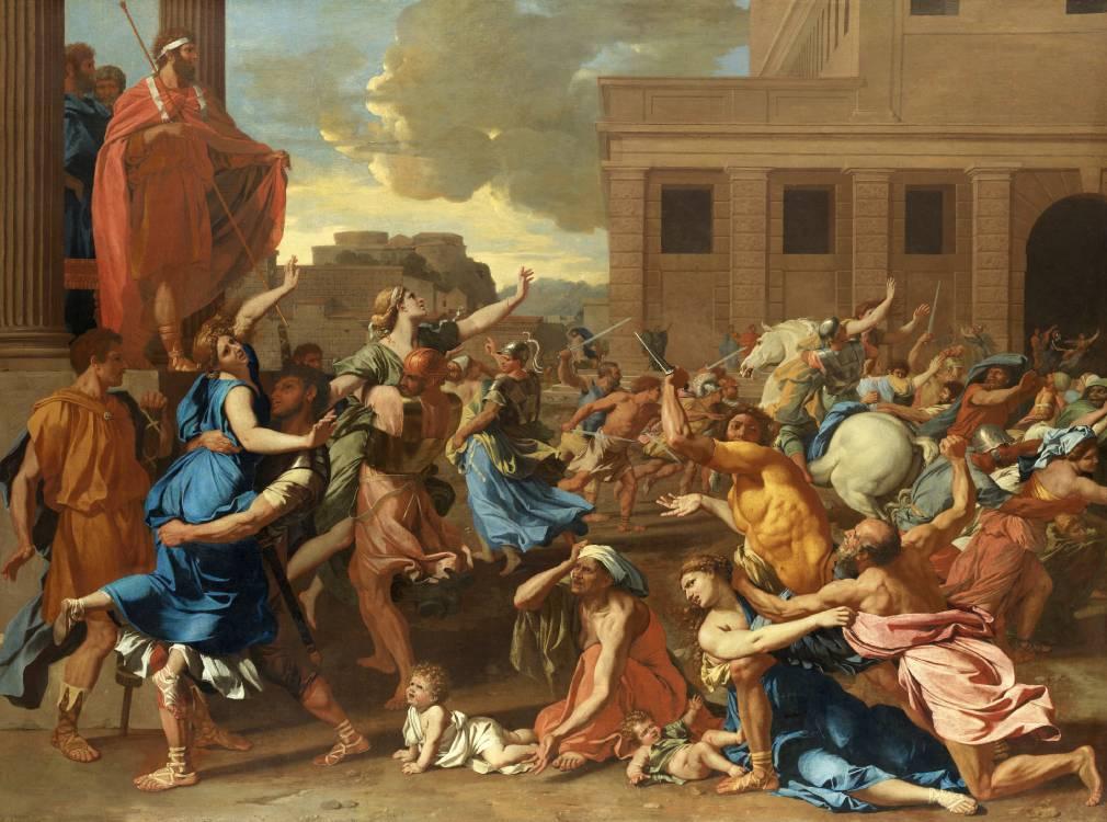 ambiente de leitura carlos romero milton marques mitologia romana ovidio rapto intervencao sabinas romulo marte guerra ovidio pintura jacques louis david mulheres hersilia roma capitolio palatino