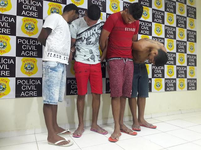 Polícia prende suspeitos de latrocínio em que fazendeiro foi morto a tiros em Porto Acre