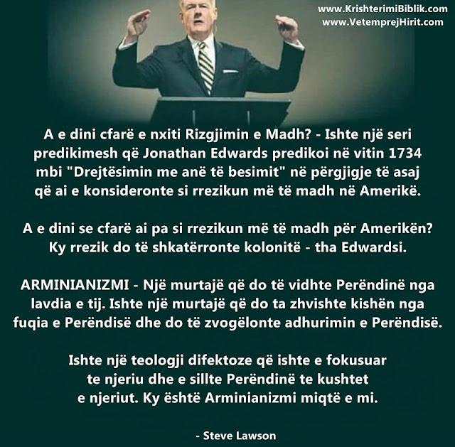 Arminianizmi, mesimet e rreme,