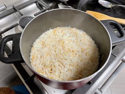 Riz bi Sharieh   Lebanese Vermicelli Rice