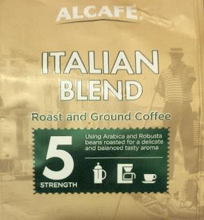 Aldi Ground Coffee Italian
