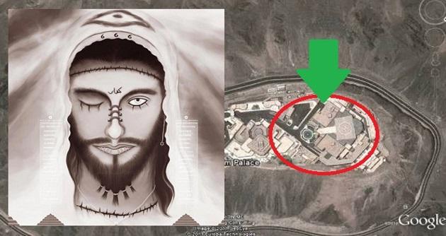 MENGERIKAN! Inilah 7 Foto Istana Dajjal yang sudah siap dibangunkan di Jabal Habshi?
