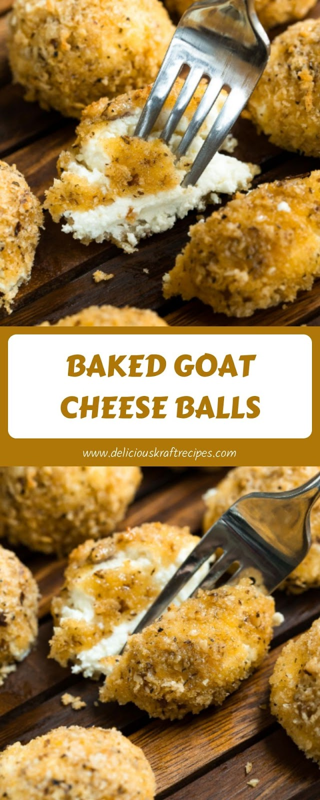 BAKED GOAT CHEESE BALLS
