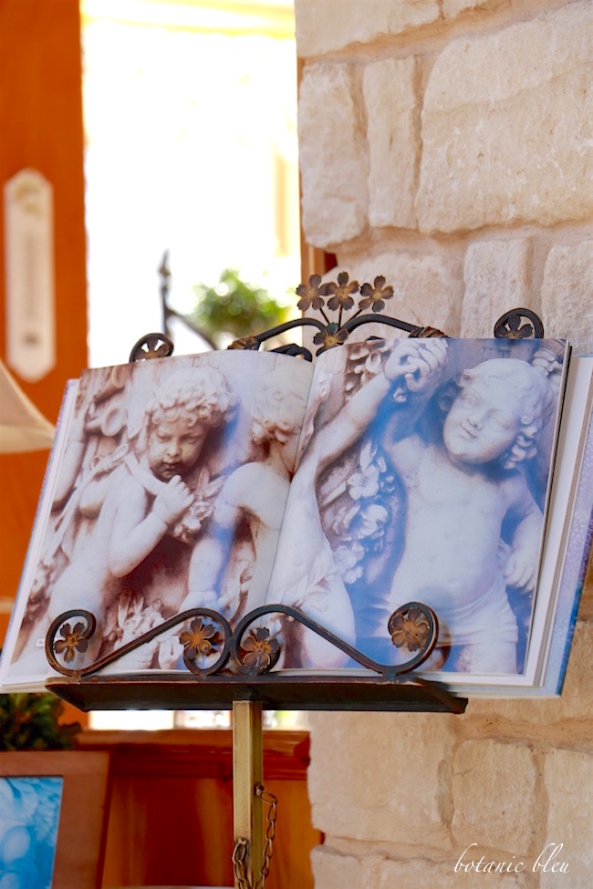 cherub-print-displayed-on-music-stand
