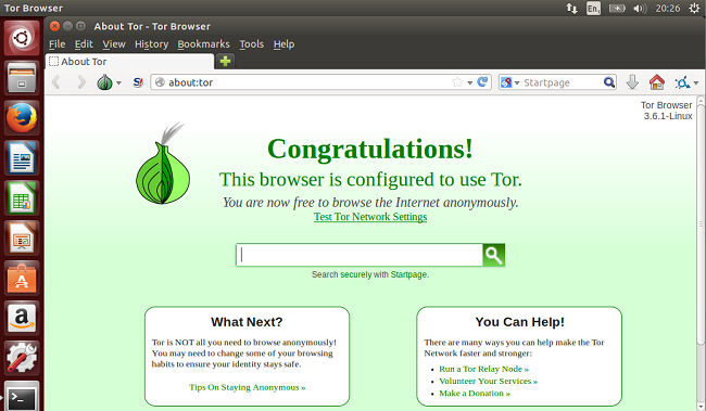 Linux Tutorial Terminal Online: How to install Tor Browser
