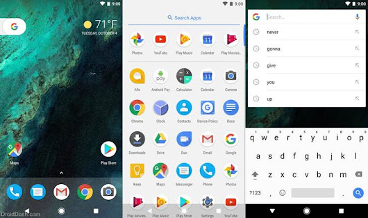 Pixel C Launcher v7.1.1 APK by Google Inc Download - DroidDosh.com