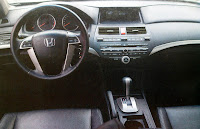 interior honda accord EXL