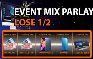 Event Mix Parlay Lose Setengah