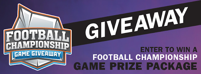 Football Championship Game Giveaway
