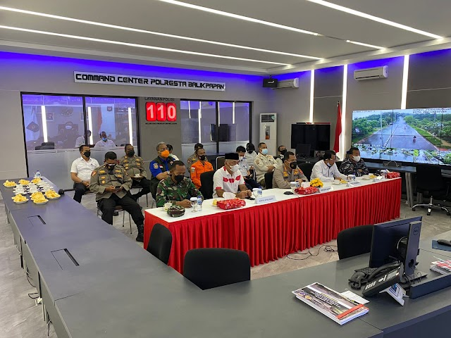 Kapolresta Balikpapan Bersama Stake Holder Lainnya Ikuti Launching ASAP Digital Nasional Secara Virtual