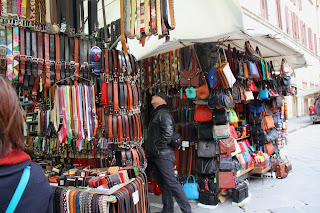 italy, leather, florence, market