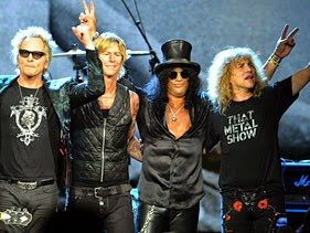 Rock and Roll Hall Of Fame Welcomes Guns N' Roses