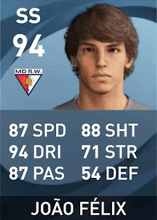 Max Rating PES 2021 João Félix Sequeira (94)