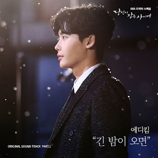 Lyric : Eddy Kim - When Night Falls (OST. While You Were Sleeping)