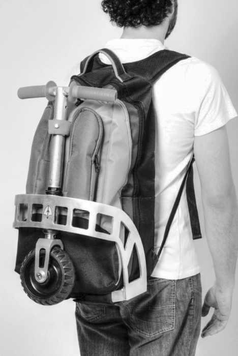 Gig Pack, combo sac à dos trottinette !