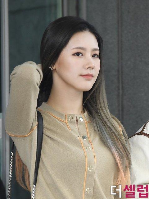 [PANN] G-IDLE Miyeon'un gazeteciler tarafından çekilen fotoğrafları