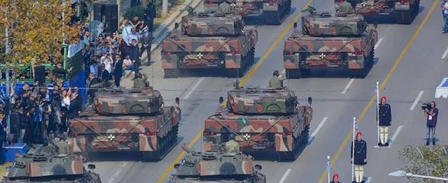 Ολοκληρώθηκε η προετοιμασία της στρατιωτικής παρελάσεως-Ποια τμήματα θα λάβουν μέρος