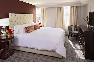 Guest room at The Graham Georgetown, Washington DC