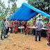 Kapolres Merangin Tinjau Vaksinasi Masal di Desa Bungo Tanjung Kecamatan Tabir Selatan