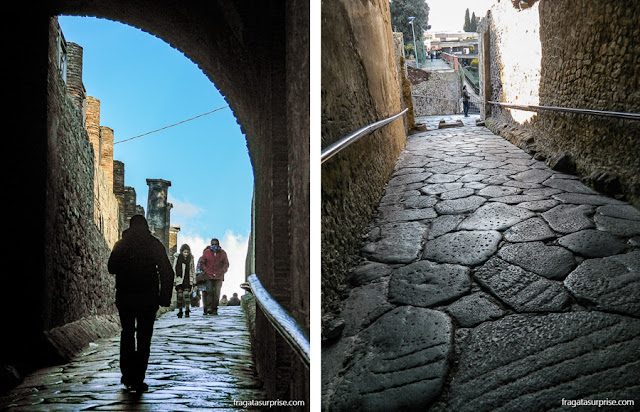 Porta Marina, acesso ao Sítio Arqueológico de Pompeia